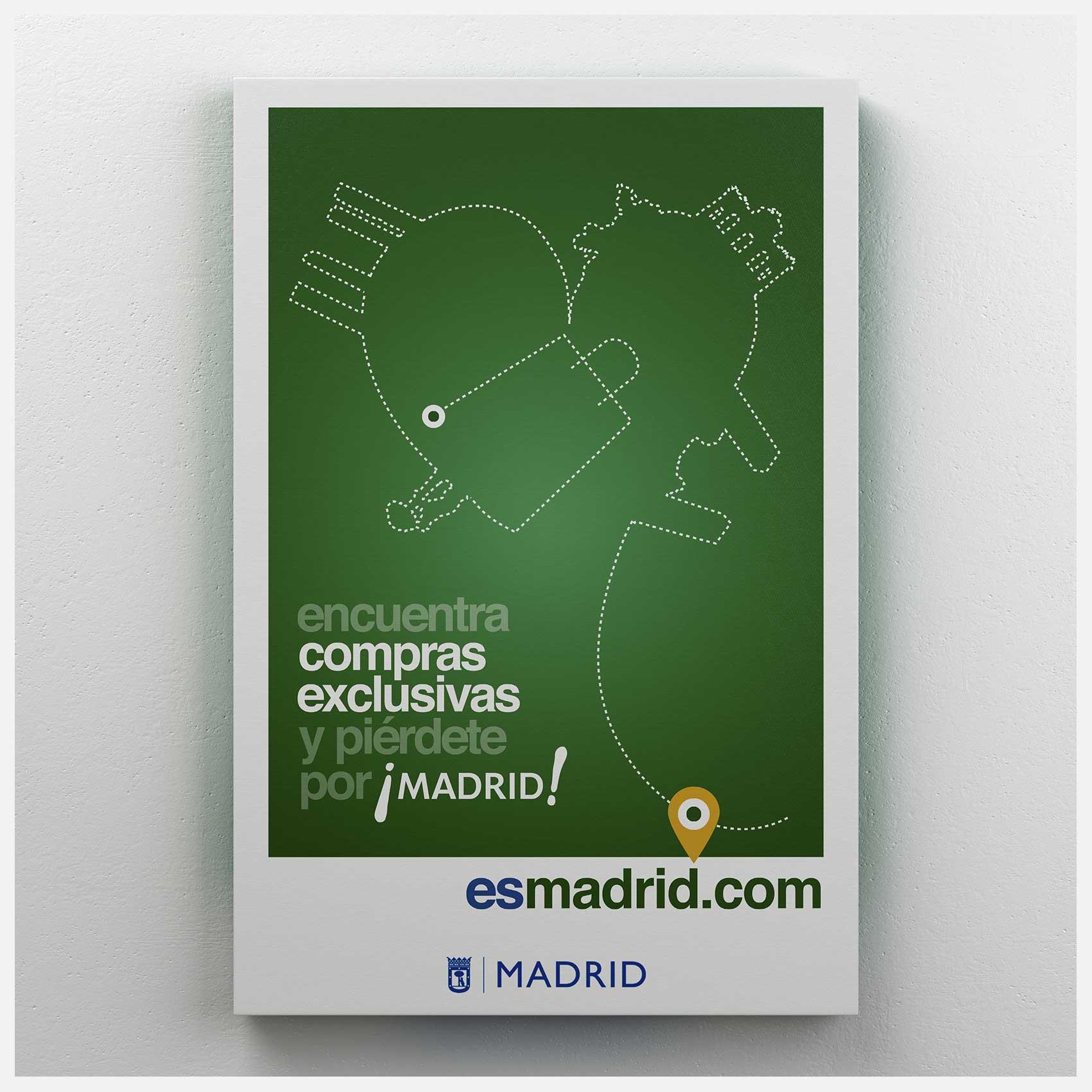 Diseño Carteles Ayuntamiento Madrid